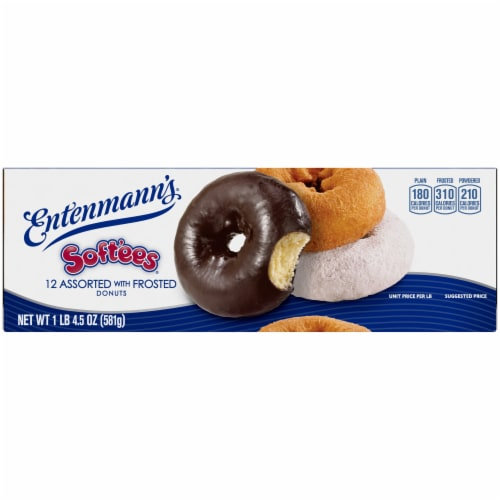 Entenmann's® Soft'ees® Assorted Donuts Perspective: top