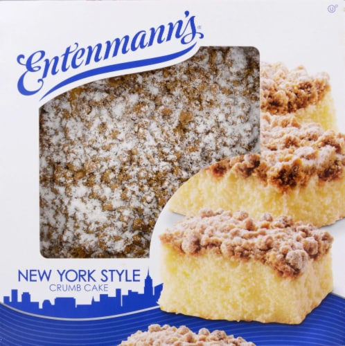 Entenmann's New York Style Crumb Cake Perspective: top