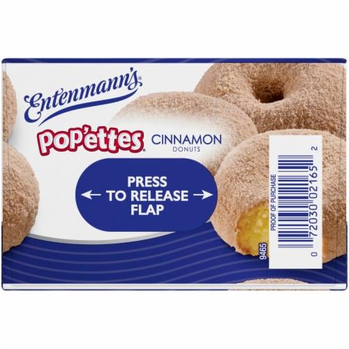 Entenmann's Pop'ettes Cinnamon Donuts Perspective: top