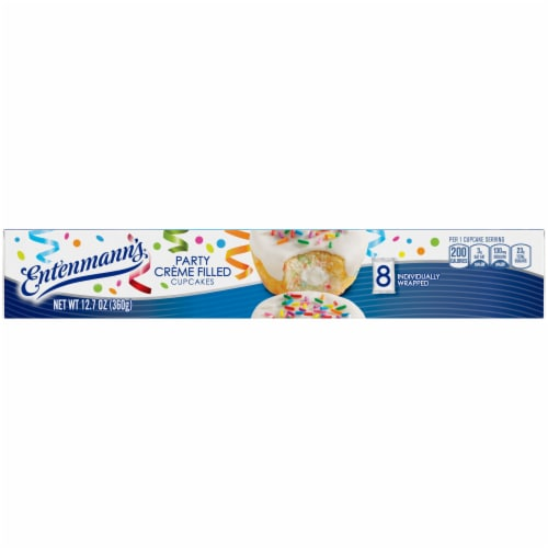 Entenmann's® Party Creme Filled Cupcakes Perspective: top
