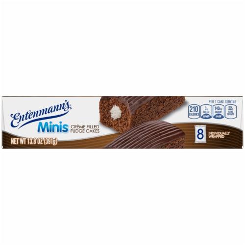 Entenmann's® Minis Creme Filled Fudge Cakes Perspective: top