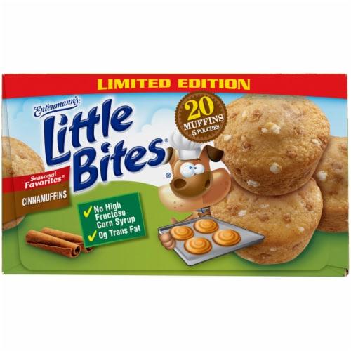 Entenmann's Little Bites Cinnamuffins Perspective: top