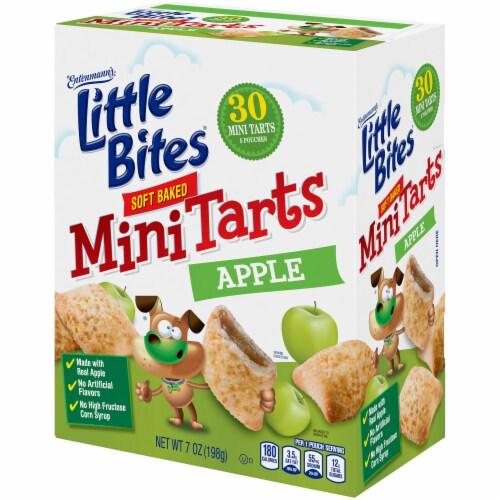 Entenmann's Little Bites Apple Soft Baked Mini Tarts Perspective: top