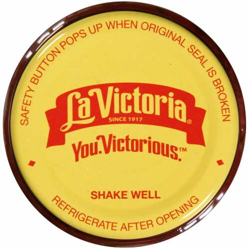 La Victoria Medium Cilantro Salsa Perspective: top
