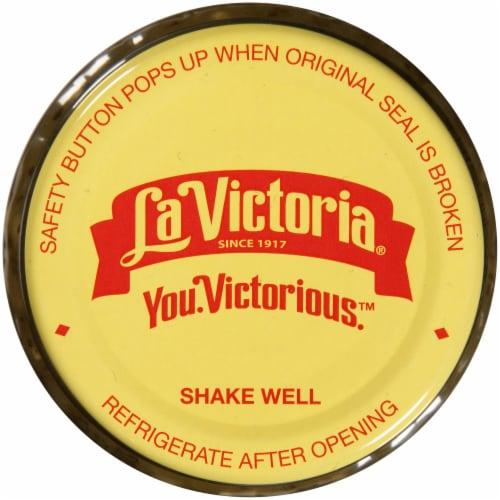 La Victoria Medium Thick 'n Chunky Salsa Verde Perspective: top