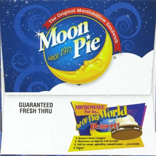 Moon Pie Mini Chocolate Bites Perspective: top