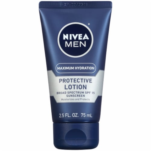 Nivea Men Maximum Hydration Protective Lotion SPF 15 Perspective: top