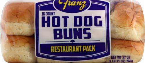 Franz® Hot Dog Buns Perspective: top