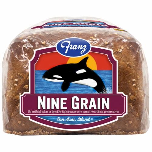 Franz® San Juan Island Nine Grain Bread Perspective: top