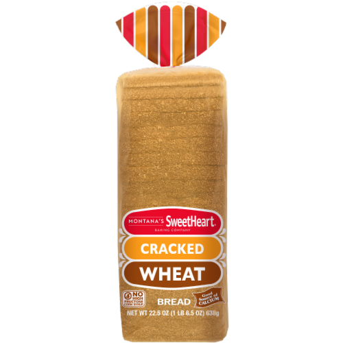 Montana's Sweetheart® Cracked Wheat Bread Perspective: top