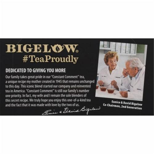 Bigelow Constant Comment Tea Bags Perspective: top