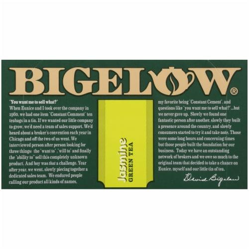 Bigelow Jasmine Green Tea Perspective: top