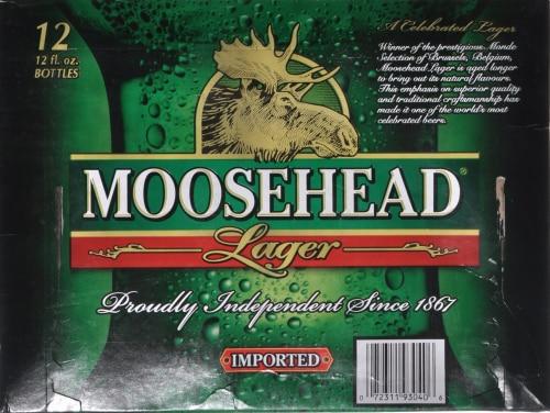 Moosehead Beer Perspective: top