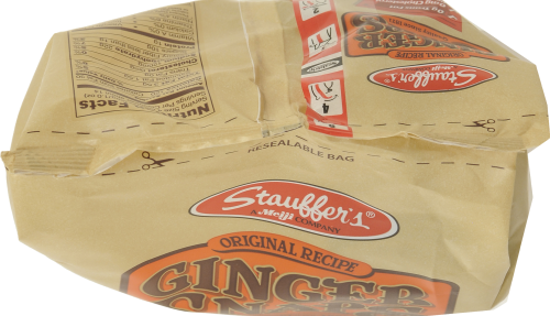 Stauffer's Ginger Snaps Perspective: top