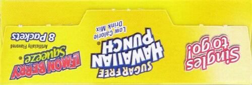Hawaiian Punch Singles to Go! Lemon Berry Squeeze Mix Perspective: top