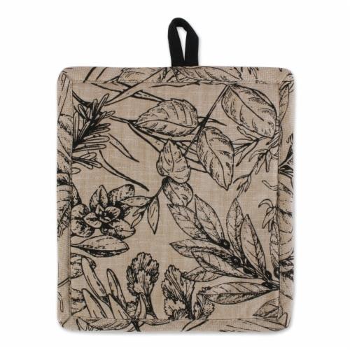 Dii Fresh Herbs Kitchen Textiles, Potholder & Dishtowels, Fresh Herbs, 4 Pieces Perspective: top