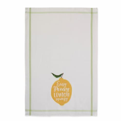 """Dii Lemon Bliss Kitchen Textiles, 18X28"""", Lemon Bliss, 4 Pieces Perspective: top"""