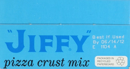 Jiffy Pizza Crust Mix Perspective: top