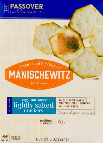 Manischewitz Passover Tam Tam Original Crackers Perspective: top