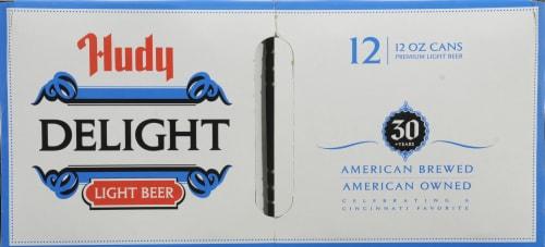 Hudy Delight Light Beer Perspective: top