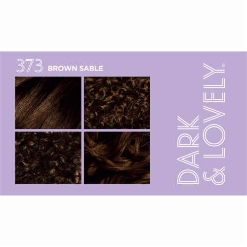 Dark & Lovely® 373 Brown Sable Fade Resist Hair Color Perspective: top