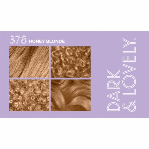 SoftSheen Carson Dark & Lovely® 378 Honey Blonde Hair Color Perspective: top