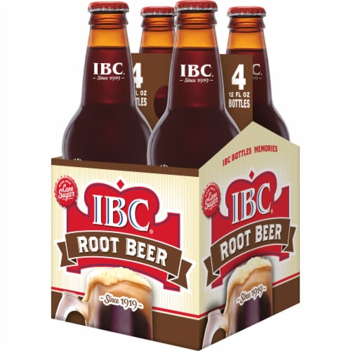 IBC Real Sugar Root Beer Perspective: top