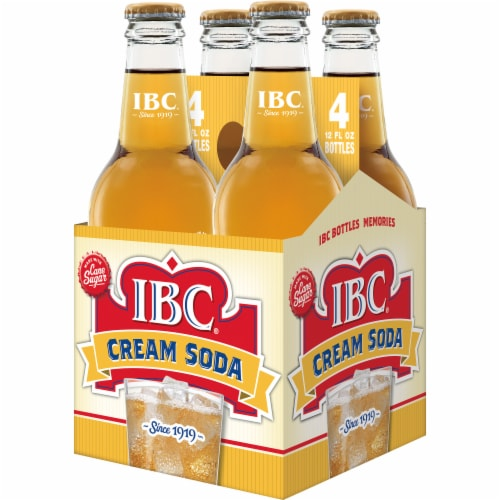 IBC Made with Sugar Cream Soda Perspective: top