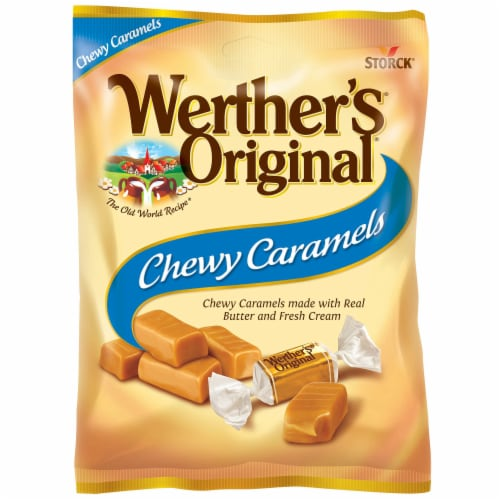 Werther's Original Chewy Caramels Perspective: top