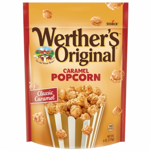 Werther's Original Classic Caramel Popcorn Perspective: top