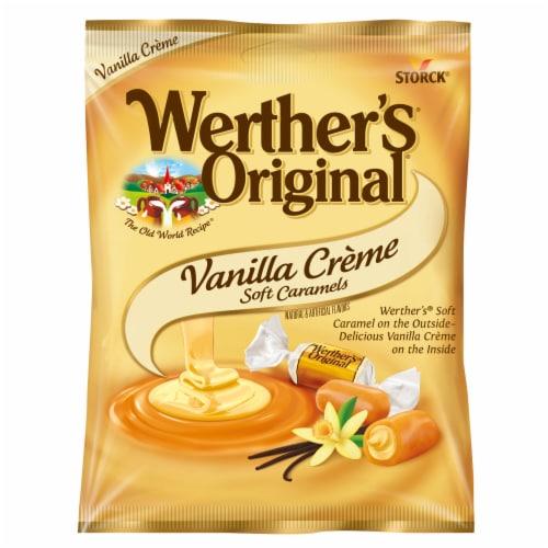 Werther's Originals Vanilla Creme Soft Caramels Perspective: top