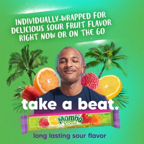 Mamba Sour Fruit Chews Perspective: top