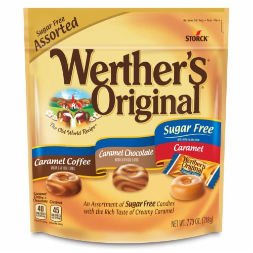 Werther's Original Sugar Free Mix Perspective: top