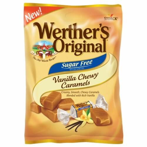 Werther's Original Sugar Free Vanilla Chewy Caramel Candies Perspective: top