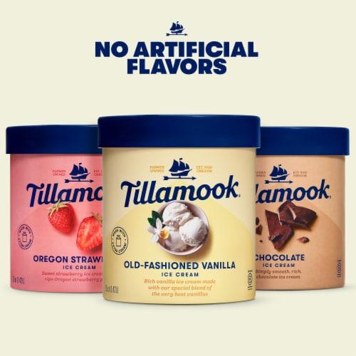 Tillamook Chocolate Ice Cream Perspective: top