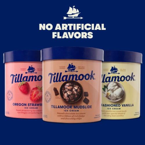 Tillamook Old-Fashioned Vanilla Ice Cream Perspective: top