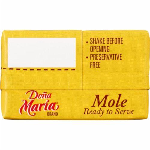 Dona Maria Mole Ready to Serve Sauce Perspective: top