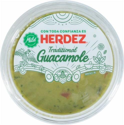 Herdez Traditional Mild Guacamole Perspective: top