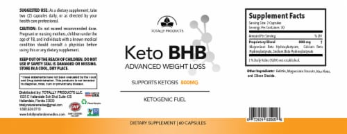 Advanced Keto Drops and Keto BHB Combo Pack Perspective: top