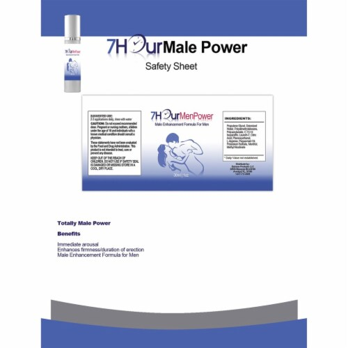 7Hour Men Power and Rock Hard Combo Pack Perspective: top
