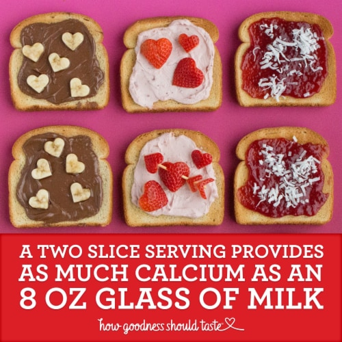 Sara Lee Soft & Smooth Whole Grain White Bread Perspective: top
