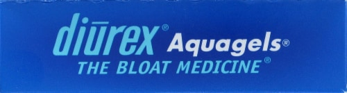 Diurex Aquagel Water Capsules Perspective: top