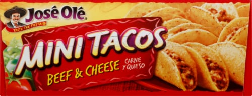 Jose Ole Beef & Cheese Mini Tacos Perspective: top
