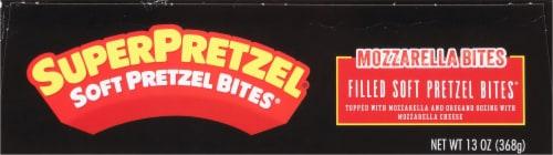 SuperPretzel Soft Pretzel Mozzarella Cheese Bites Perspective: top