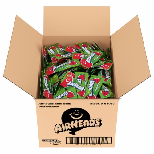 Airheads Watermelon Candy Perspective: top