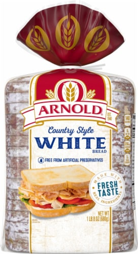 Arnold Country White Bread Perspective: top