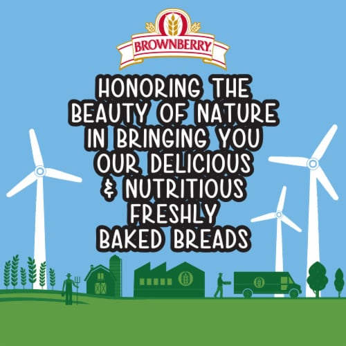 Brownberry® Organic 22 Grains and Seeds Bread Perspective: top