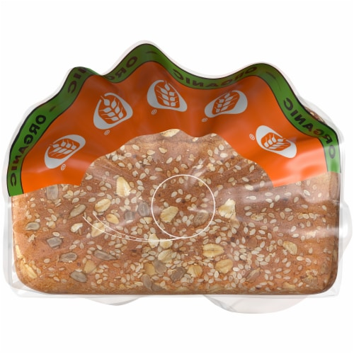 Brownberry Organic 100% Whole Grain Bread Perspective: top