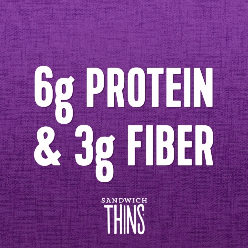 Brownberry® Multigrain Sandwich Thins Perspective: top