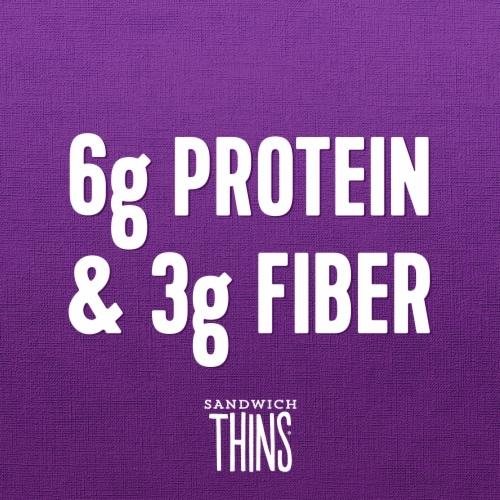 Oroweat® Multigrain Sandwich Thins Perspective: top